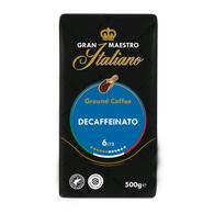 Koffievoordeel-Gran Maestro Italiano - gemalen koffie - Decaffeinato 6-aanbieding