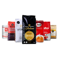 Koffievoordeel-Proefpakket koffiebonen - huisfavorieten Qualità Classica - 5.5kg-aanbieding