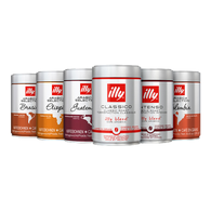 Koffievoordeel-Koffiebonen proefpakket - illy - Mix - 15kg-aanbieding