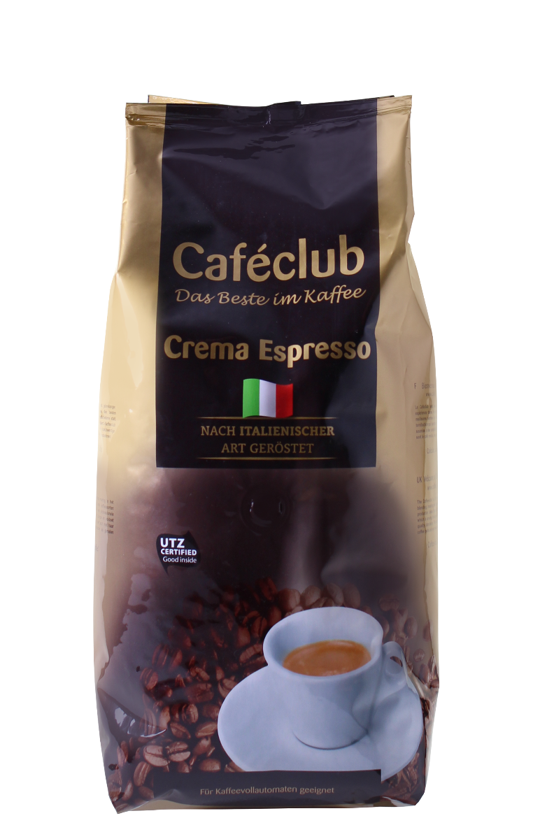 Caféclub - koffiebonen - Crema Espresso