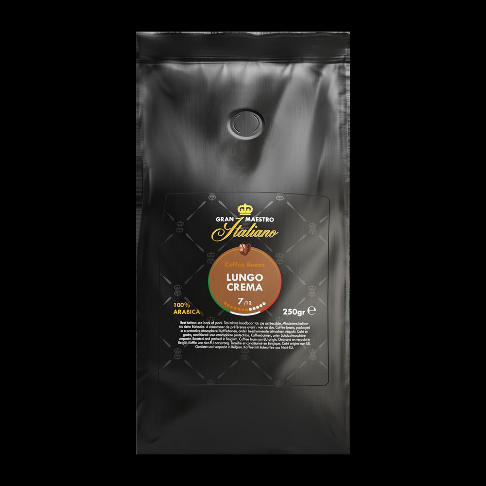 Gran Maestro Italiano - koffiebonen - Lungo Crema (250 gram)