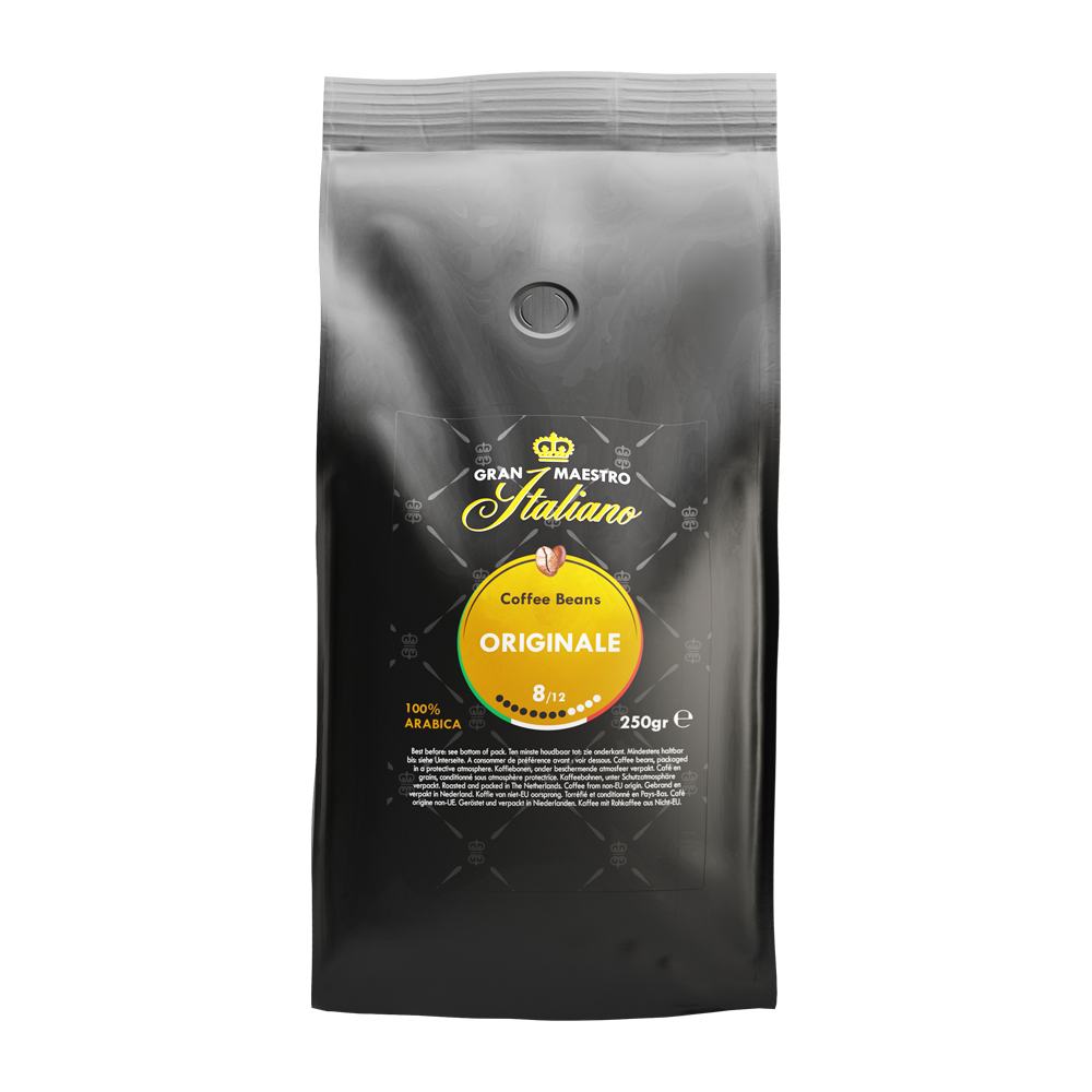 Gran Maestro Italiano - koffiebonen - Originale (250 gram)