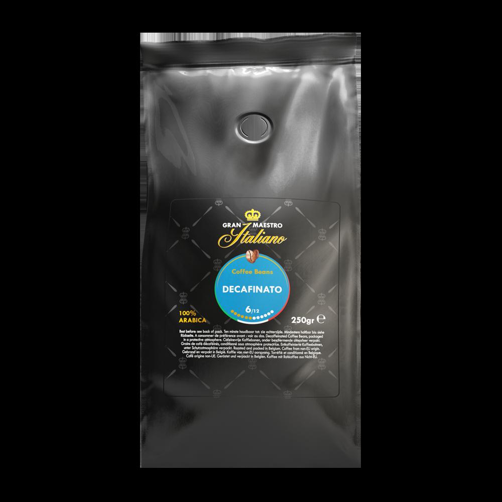 Gran Maestro Italiano - koffiebonen - Decafinato (250 gram)