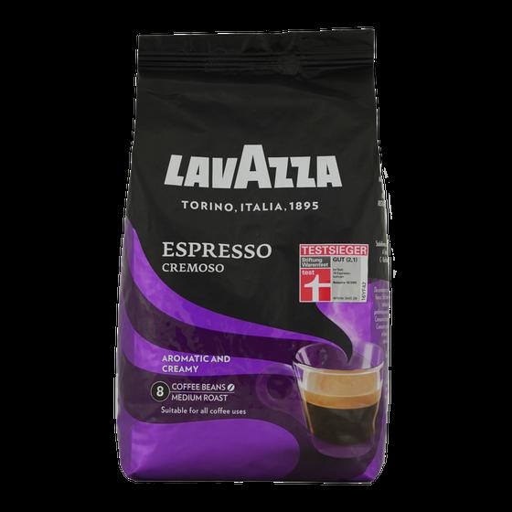 CW101810 - lavazza espresso cremoso bonen 1kg