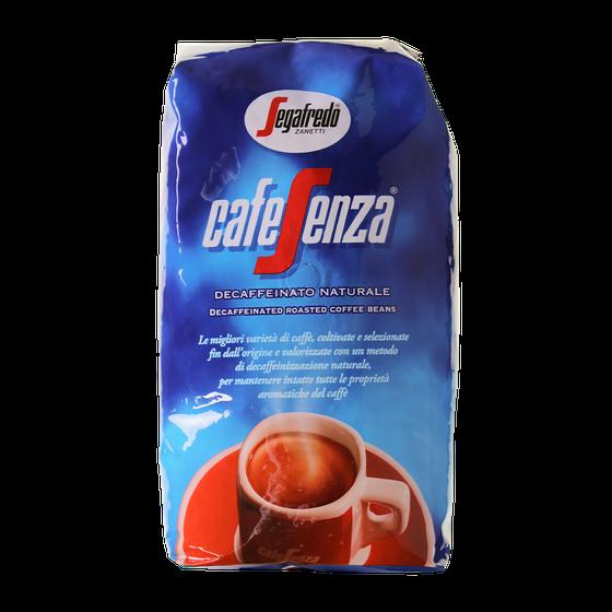 CW102503 - segafredo cafesenza cafeinevrij bonen 1kg