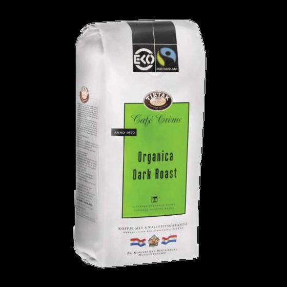 CW102804 - tiktak organica dark roast eko bonen 1kg
