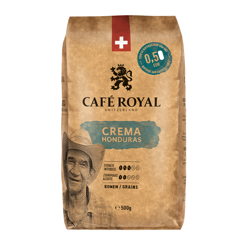 Cafe Royal - koffiebonen - Honduras crema