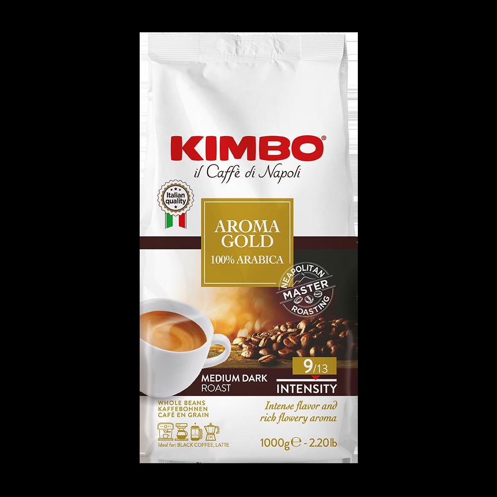 Kimbo - koffiebonen - Aroma Gold