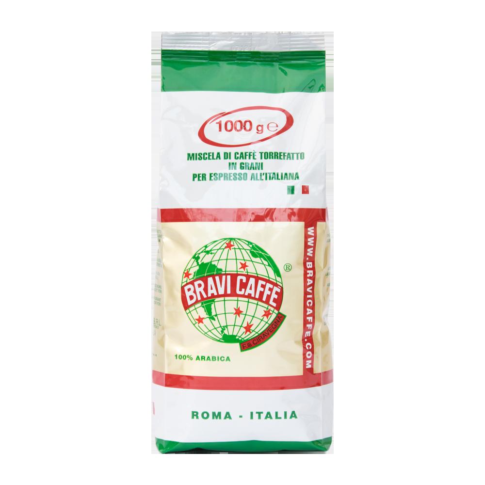 Bravi Caffé - koffiebonen - 100% Arabica