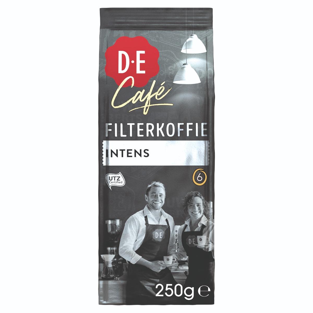Douwe Egberts D.E Café - gemalen koffie - Intens