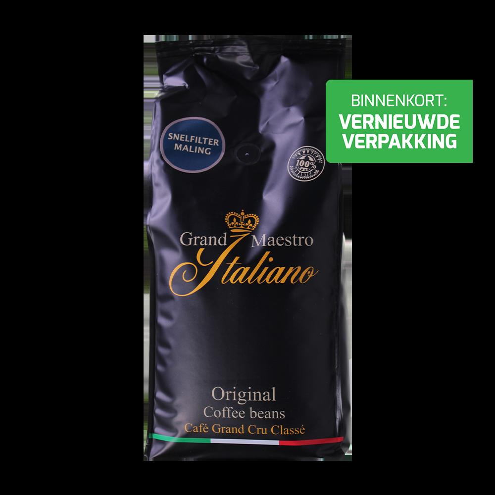 Grand Maestro Italiano gemalen koffie Original
