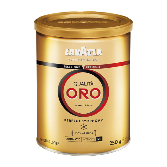 Lavazza - gemalen koffie - Qualità Oro Tin