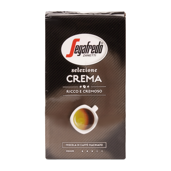 Segafredo - gemalen koffie - Selezione Crema