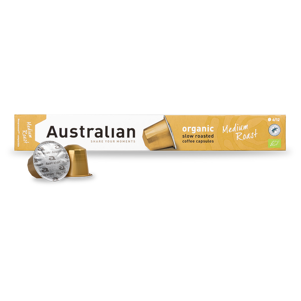 Australian - Nespresso compatible - Slow roast Medium (Organic)