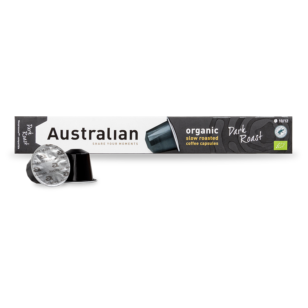 Australian - Nespresso compatible - Slow roast Dark (Organic)