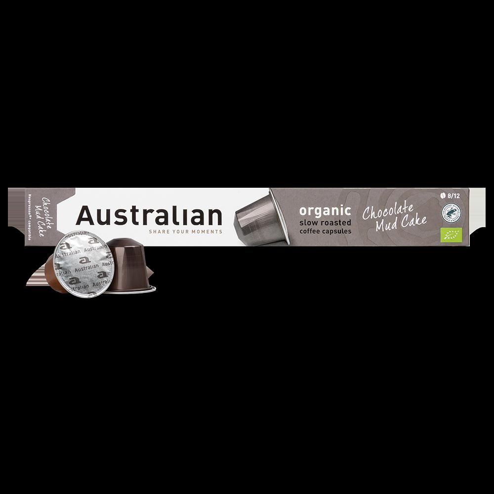 Australian - Nespresso compatible - Slow roast Chocolate Mud Cake (Organic)