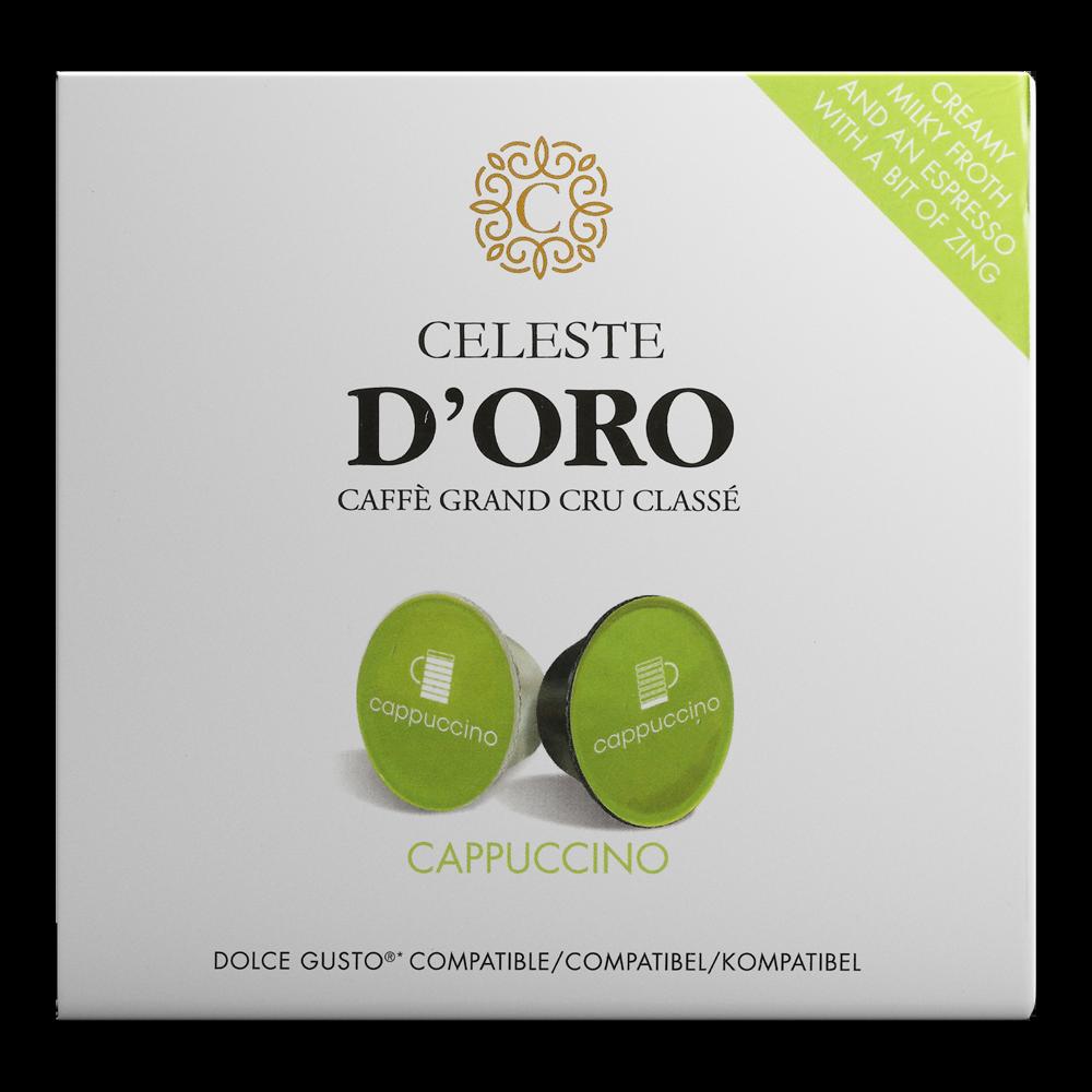 Celeste d'Oro - dolce gusto - Cappuccino