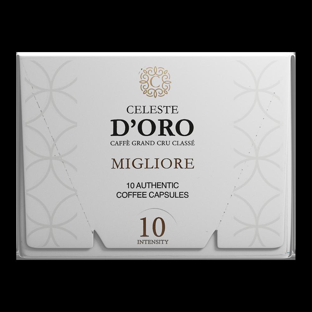 Celeste d'Oro - nespresso compatible - Migliore Espresso