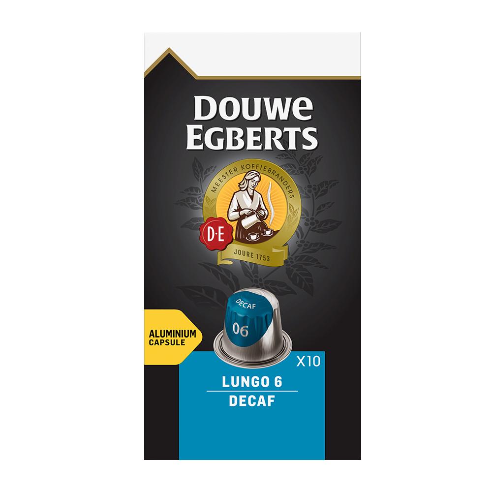 Douwe Egberts - koffiecups nespresso compatible - Lungo Decaf