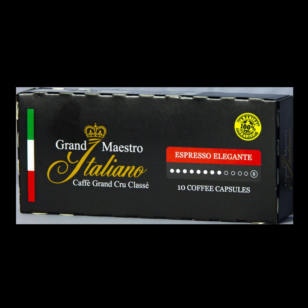 Grand Maestro Italiano - nespresso - Espresso Elegante