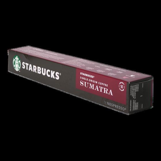 Starbucks - nespresso - Sumatra - single origin