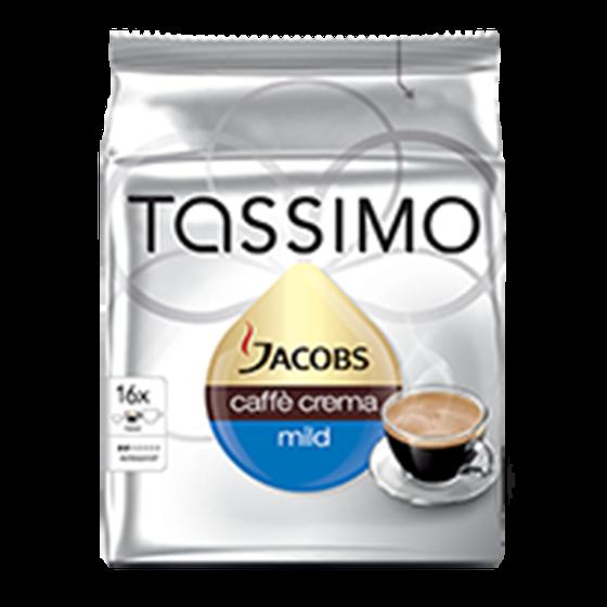 CW212605M - tassimo caffe crema mild capsules 1stuk