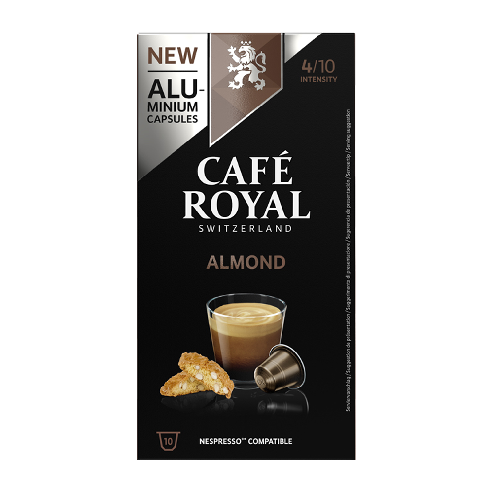 Cafe Royal - nespresso - Almond