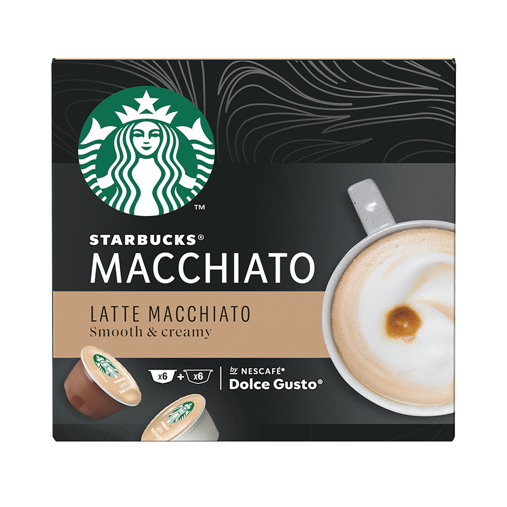 Starbucks- Dolce Gusto - Latte Macchiato