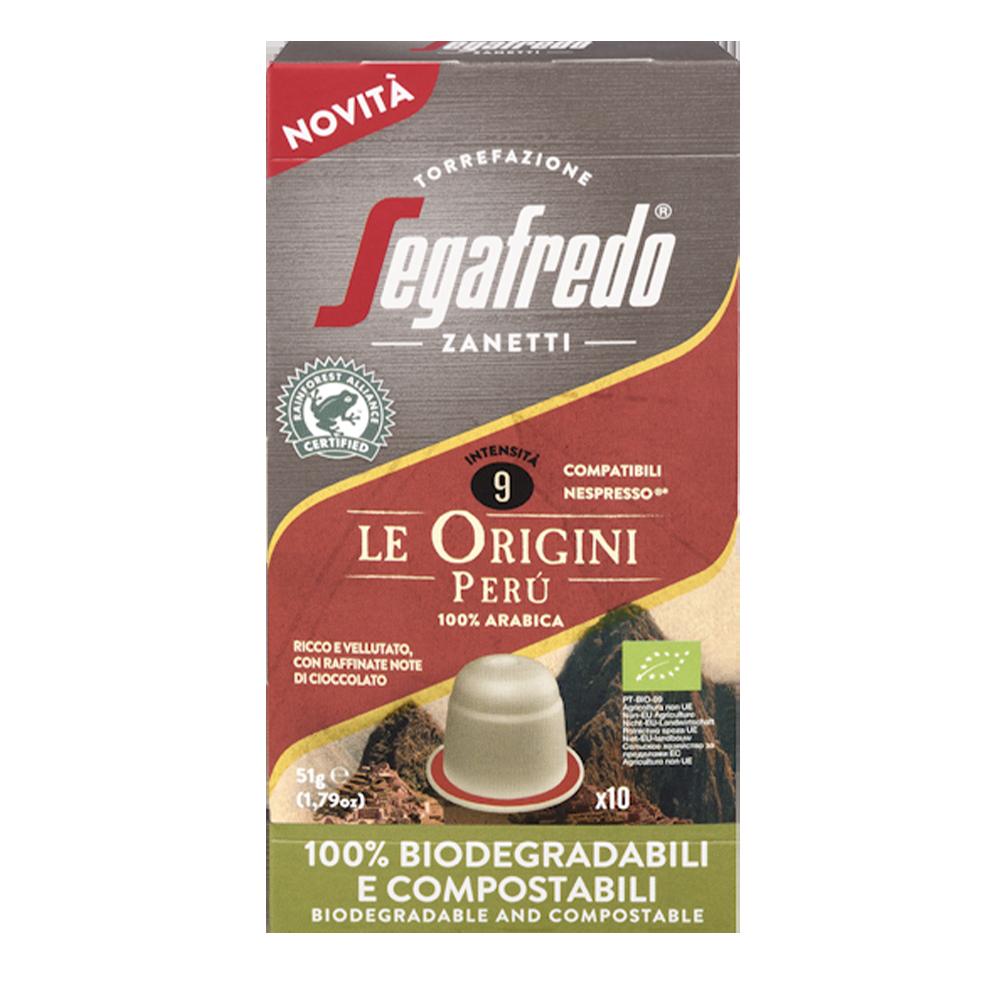 Segafredo - Nespresso compatible - Le Origini Peru (Organic)