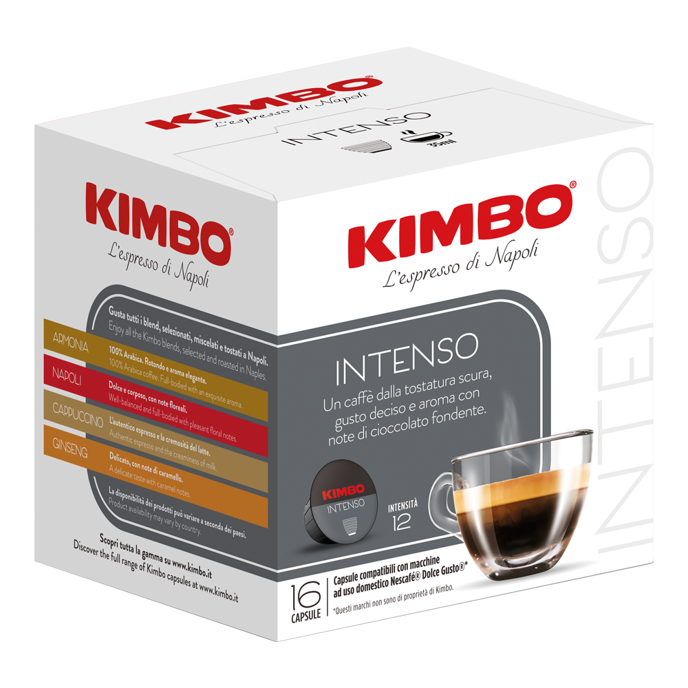 Kimbo - dolce gusto - intenso