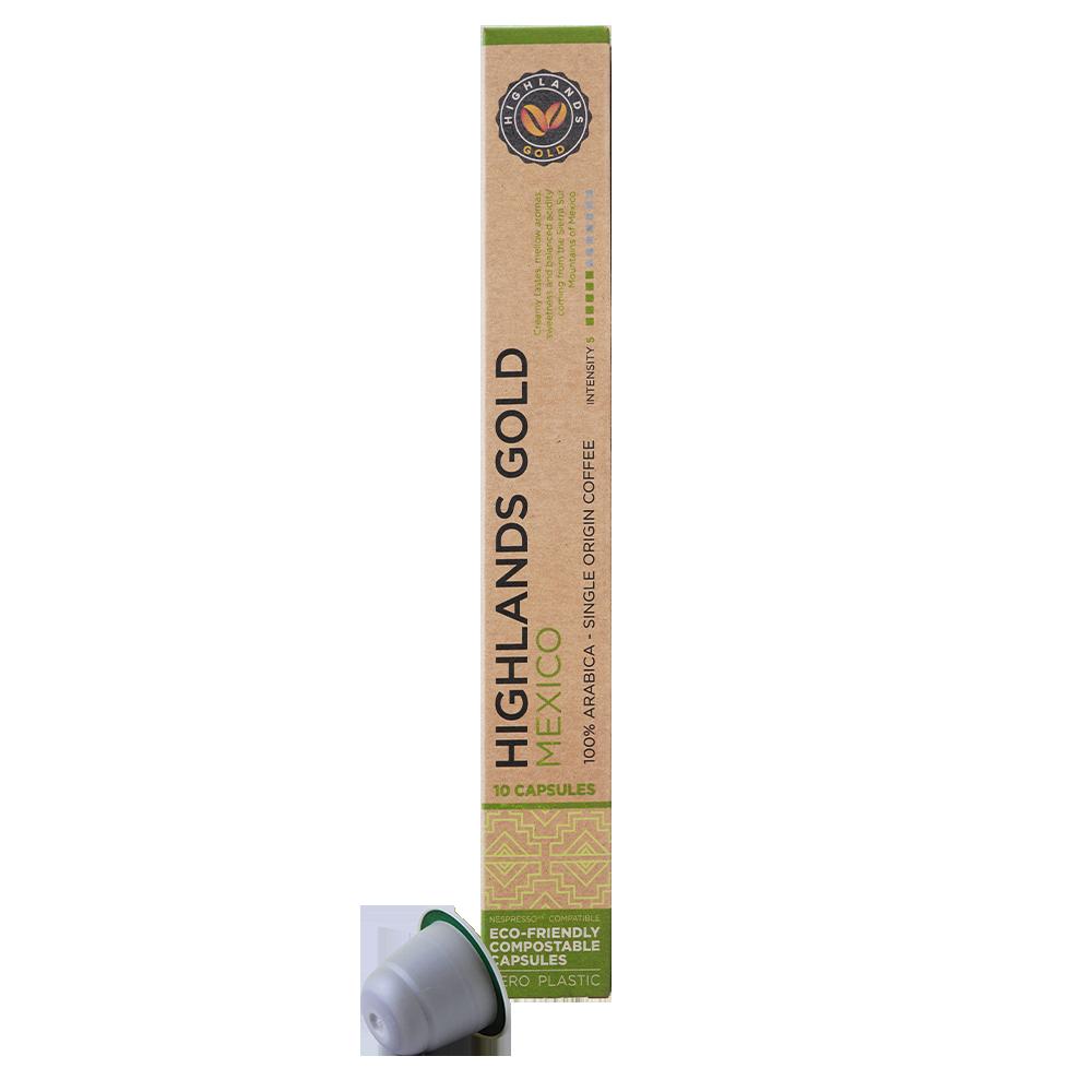 Highlands Gold - nespresso compatible - Mexico (Organic)