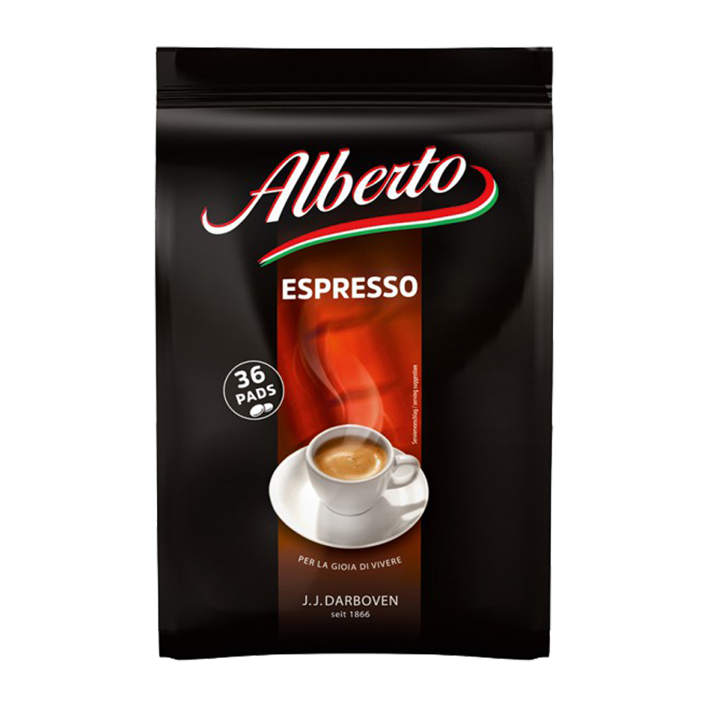 Alberto - senseo compatible koffiepads - Espresso