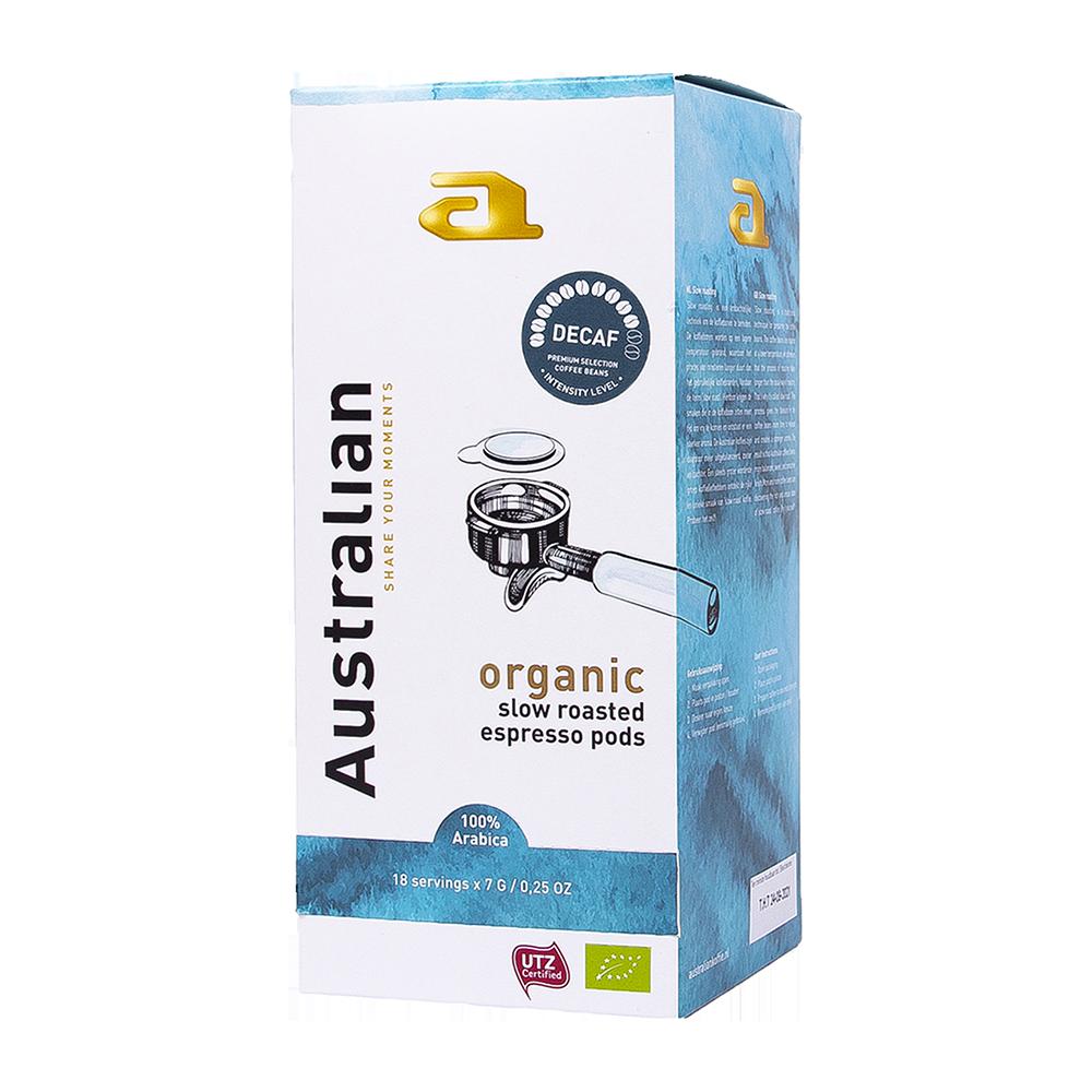 Australian - E.S.E. Servings - Decaf Roast (Organic)