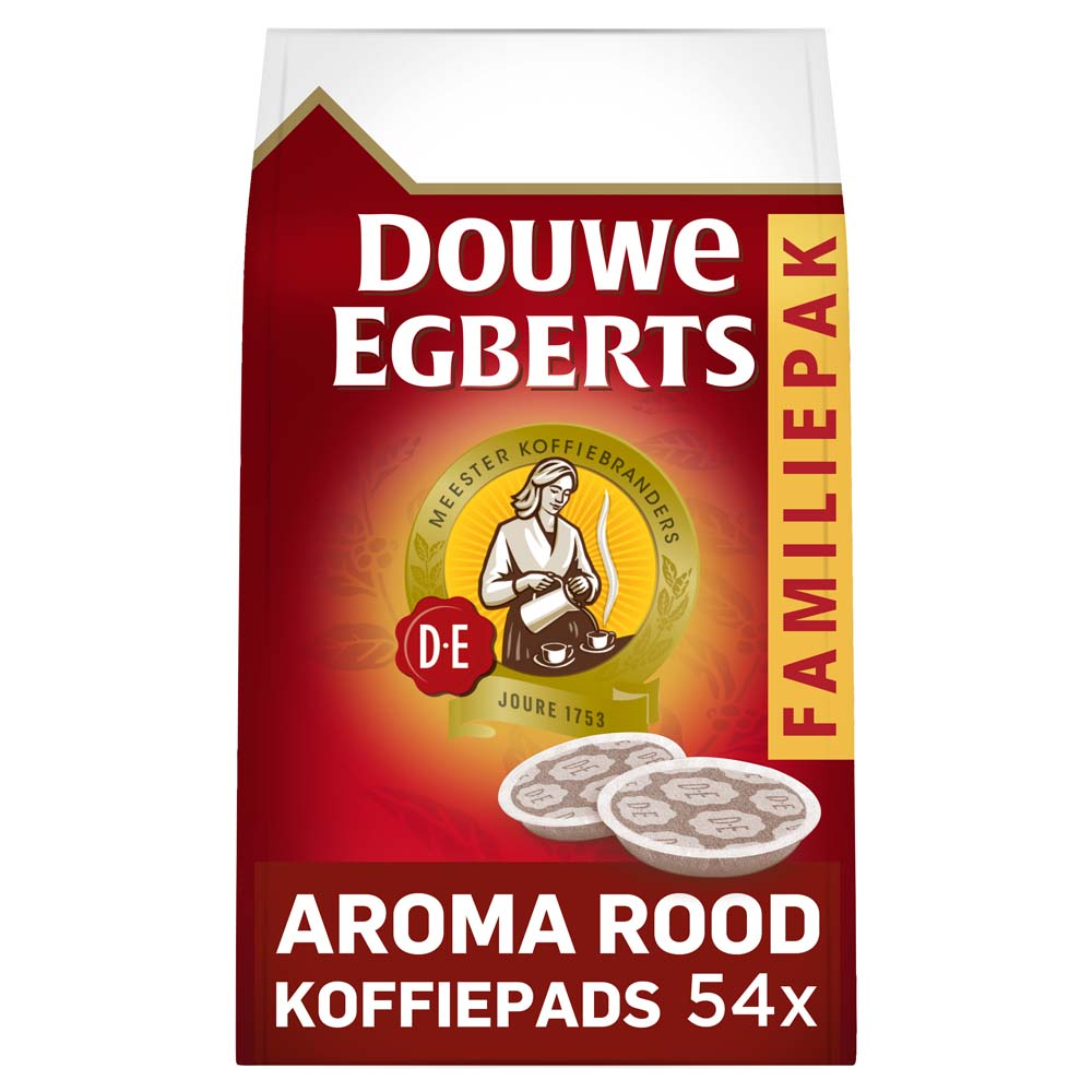 Douwe Egberts - senseo compatible koffiepads - Aroma Rood