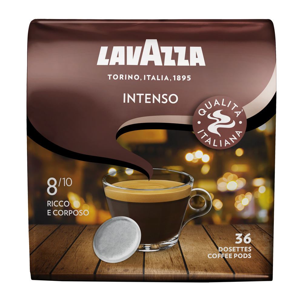 Lavazza - senseo compatible koffiepads - Intenso