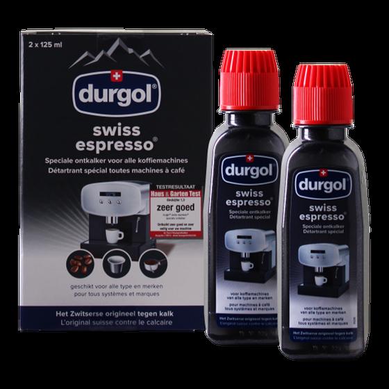 Durgol Swiss Espresso Ontkalker Set (6 x 125 ml)