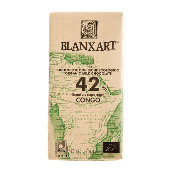 CW505206 - blanxart congo melk 42 bio chocolade