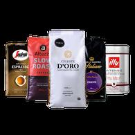 Koffiebonen proefpakket - Italië - Forte (krachtig) - 4.25kg