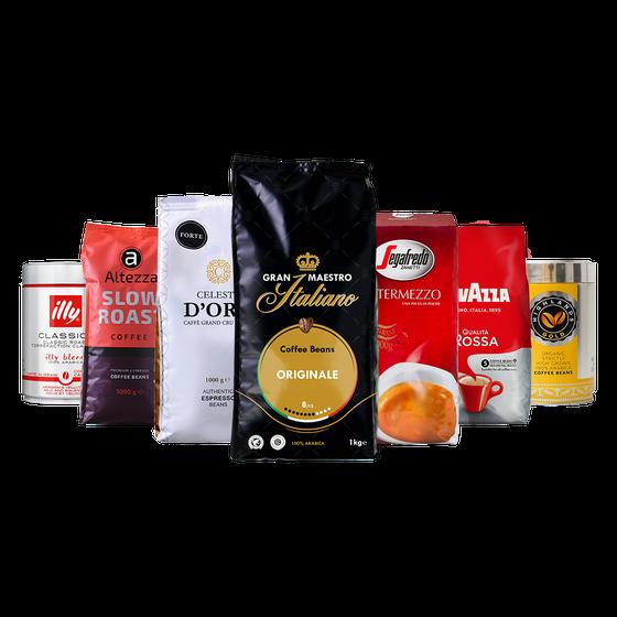 Koffiebonen proefpakket - Jubileumpakket Qualità Classica - 5.5kg