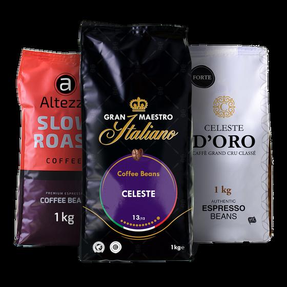 Koffiebonen stuntpakket - Krachtig (3 kilo)