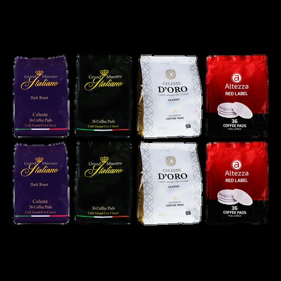 Senseo® pads Stuntpakket - 288 pads