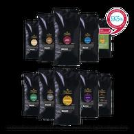 Koffiebonen proefpakket - Gran Maestro Italiano -  Reis door Italië - 2.5kg