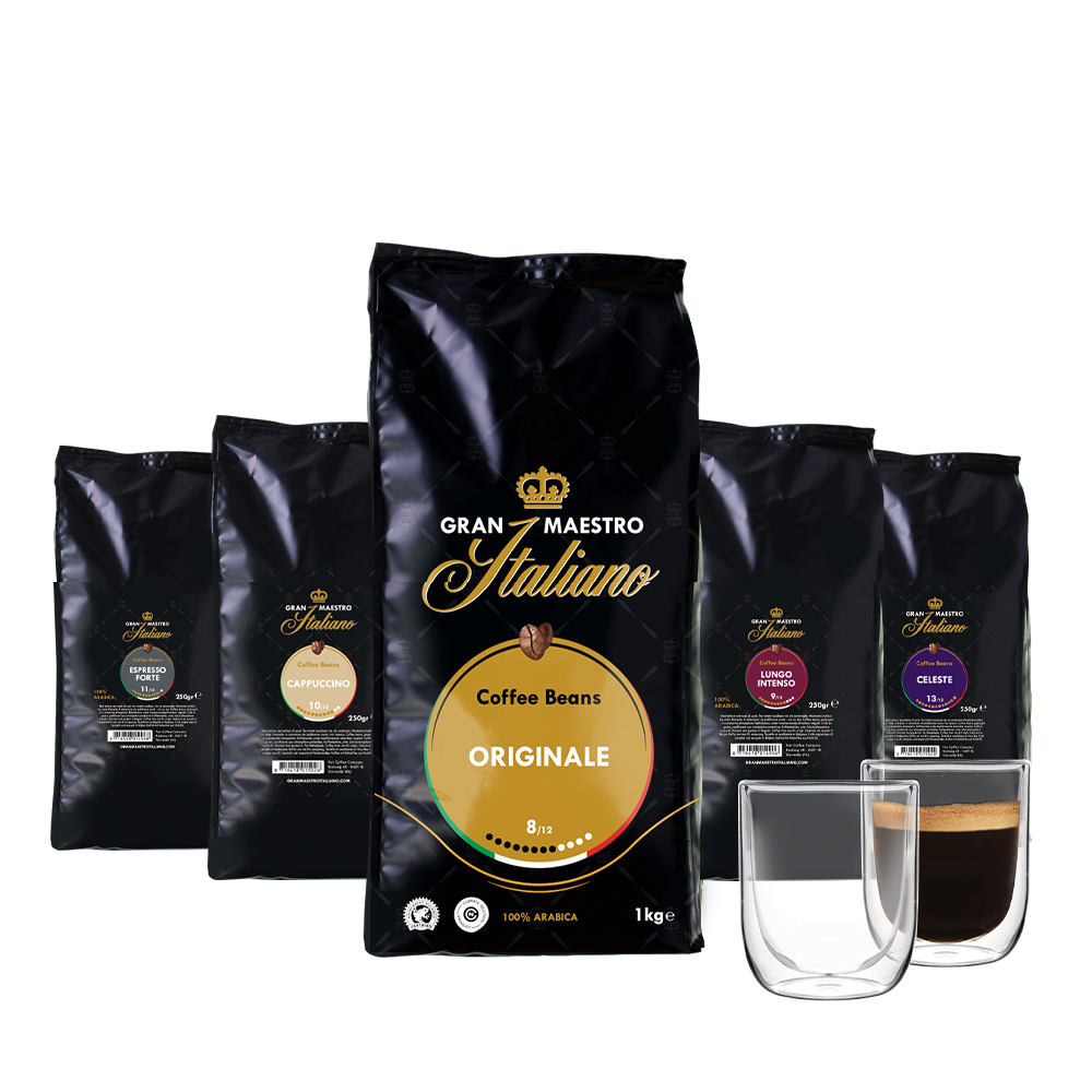 Proefpakket koffiebonen - Krachtig en Verfijnd
