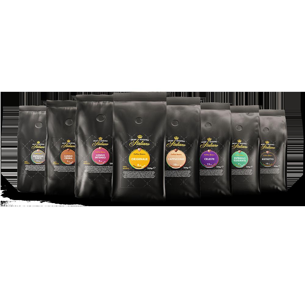 Proefpakket koffiebonen - kennismaking