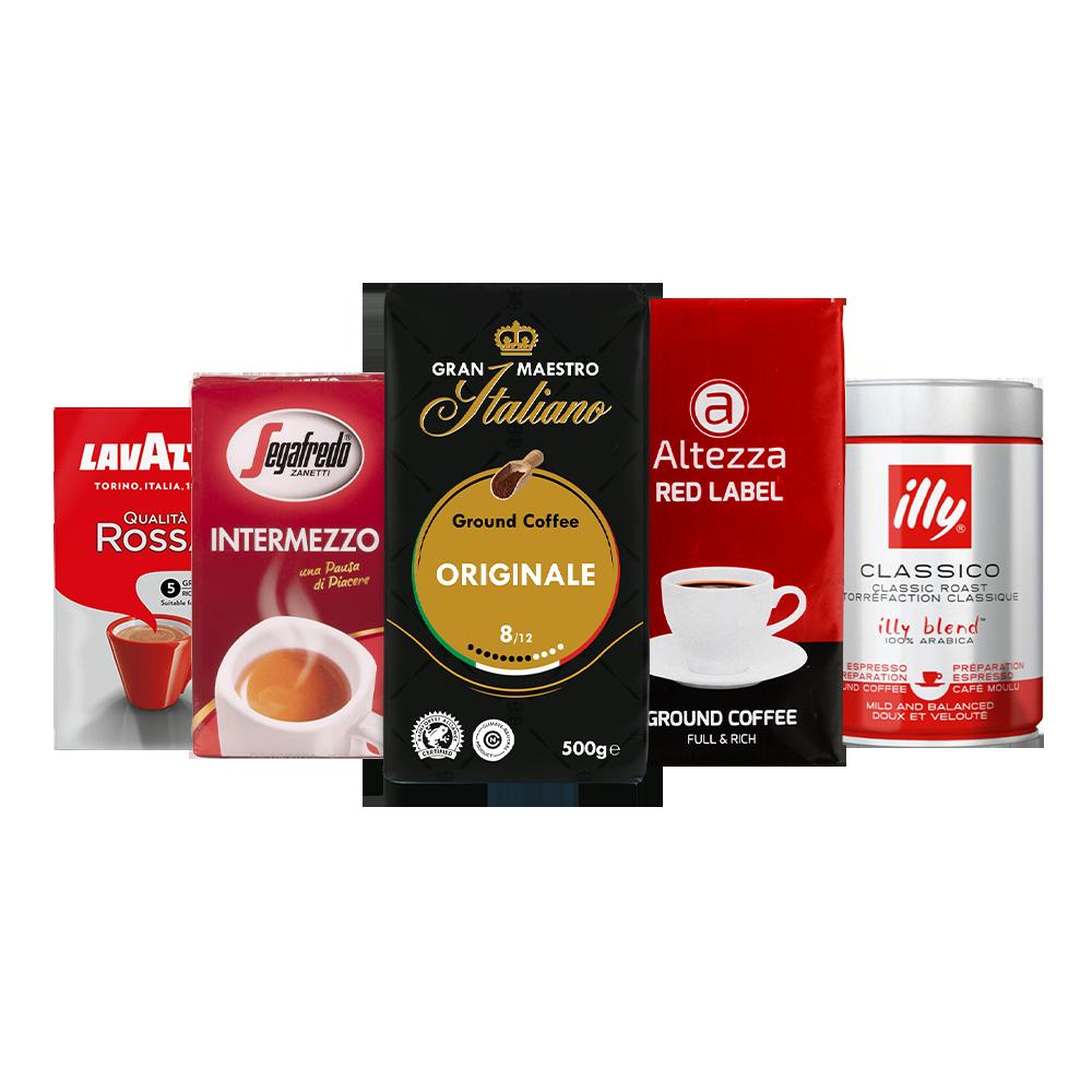 Proefpakket - Gemalen koffie - Huisfavorieten