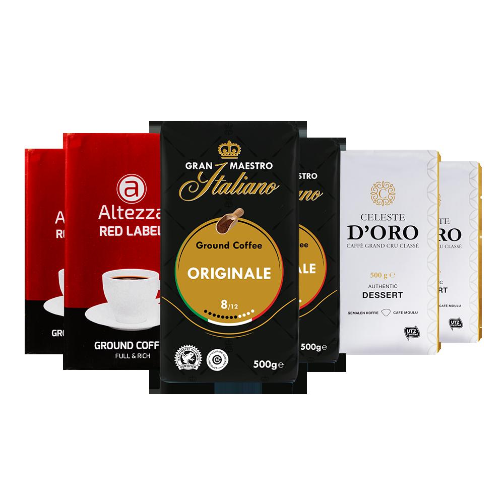Proefpakket - Gemalen Koffie