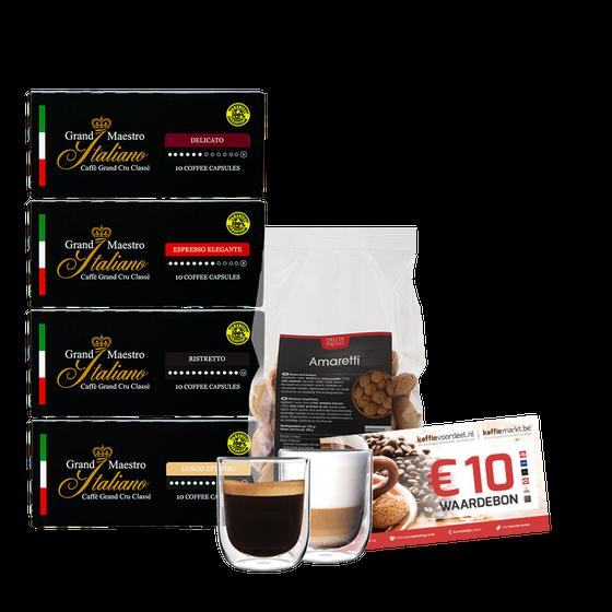 Kennismakingspakket - Nespresso cups
