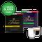 Proefpakket Grand Maestro Italiano - Nespresso (100 cups) en 2 luxe dubbelwandige glazen