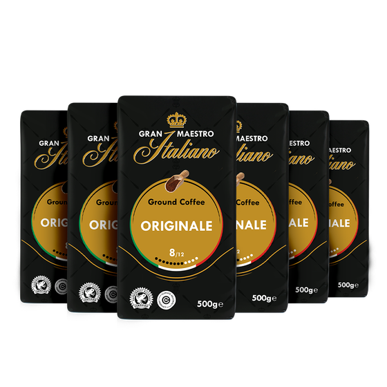 Voordeelpakket Grand Maestro Italiano - filterkoffie (6 x 500 gr)
