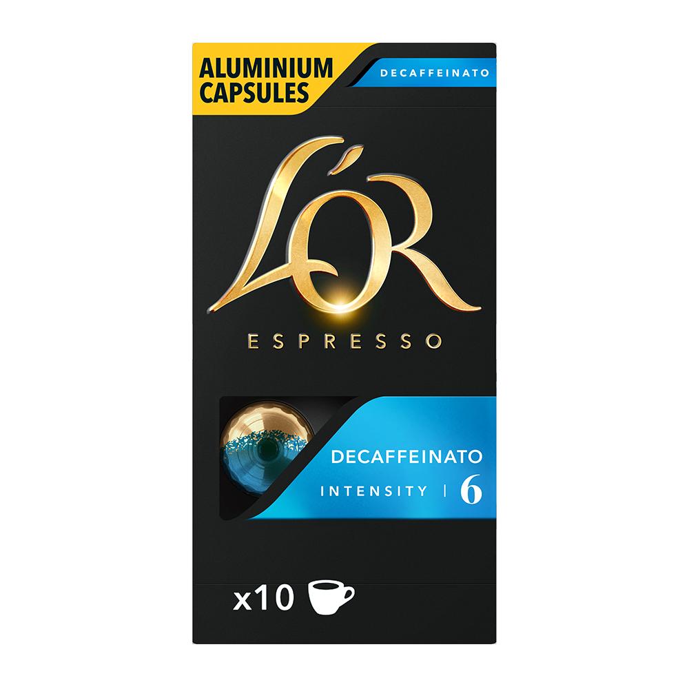 L'OR Espresso - koffiecups nespresso compatible - Decaffeinato
